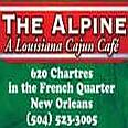 The Alpine Bistro – 620 Chartres in the French Quarter, New Orleans