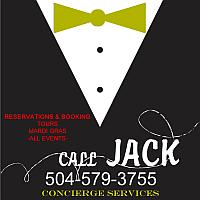 Call Jack For French Quarter Tours & Event Bookings & Reservation 504-905-2375